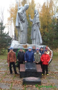 «Аллея героев» на базе КСОШ № 2 открылась 2 февраля 2015 г. в День воинской славы России