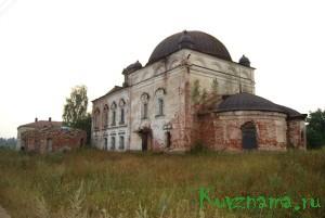 Могилевский Успенский монастырь в 1971 году