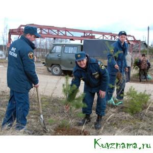 25 апреля в районе Негочанского водохранилища была заложена аллея Памяти