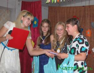 Конкурс «Девочка-лето», прошедший в конце июля в Борковском Доме культуры