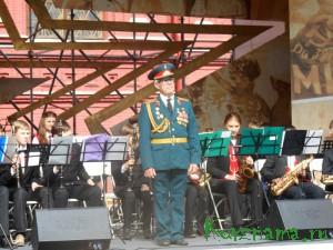 Выступление детского духового оркестра «Золотой саксофон» на Дне города Москвы