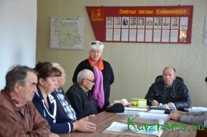 На заседании президиума районного Совета ветеранов