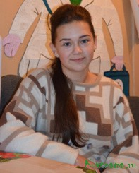 Виктория Жукова, учащаяся 8 класса