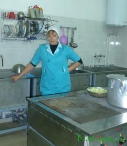 В детском саду №2 большая радость – подошел к концу капитальный ремонт кухни