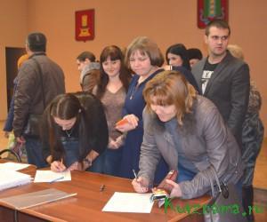 Общее итоговое собрание горожан под руководством Л.Н. Смирновой