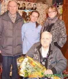 Глава сельского поселения Оксана Витальевна Туренкова и Владимир Николаевич с супругой