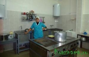 В детском саду №2 прошел капитальный ремонт кухни