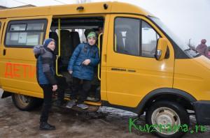 Перевозка детей в школу