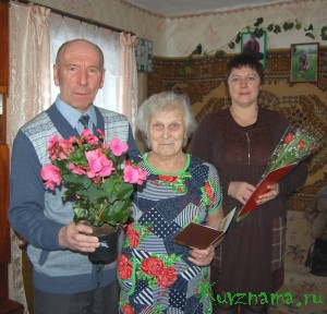 Учитель с 36-летнем стажем Валентина Александровна Матвеева