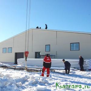 Cтроительство молокоперерабатывающего завода ООО «Николаевская ферма»