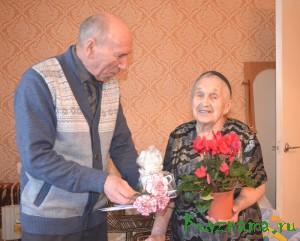 Анне Петровне Савченко исполнилось 90 лет