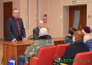 На заседании пленума районного Совета ветеранов