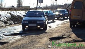 Износ дорог за зиму