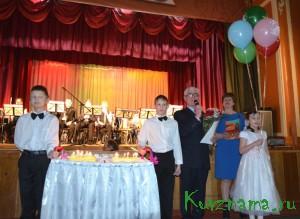 Детскому образцовому духовому оркестру «Золотой саксофон» – 20 лет!