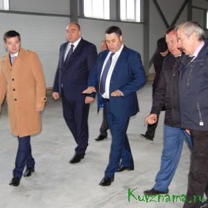 Рабочий визит Игоря Рудени в наш район