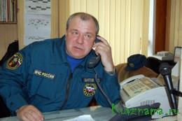 Сергей Евгеньевич Шатов – диспетчер пожарной части