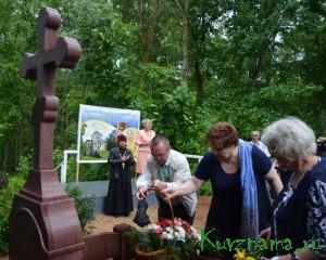 Возложение  цветов к мемориальному комплексу