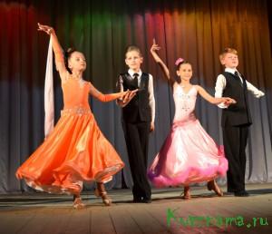 Концерт спортивной студии бального танца «Импульс»