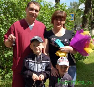 Молодые супруги медиков Сергей и Ирина Полины