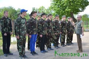 К солдатской службе готов!