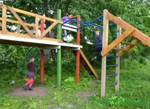 Детский городок в д. Лопатино