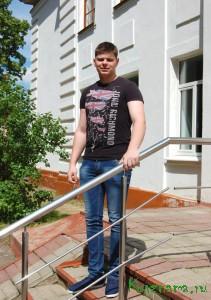 Выпускник Кувшиновского колледжа Михаил Смыслов