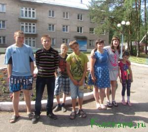 Каникулы кувшиновских школьников
