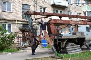 Ремонтные работы ведет ООО УК «Универсал» (Пионерский б-р, д. 3)