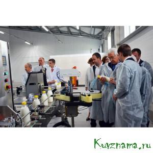 Открытие «Николаевской фермы»