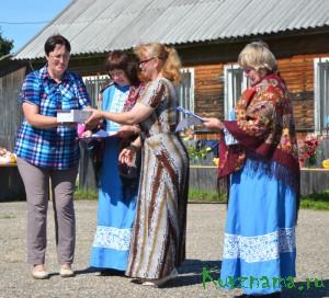 Торжественное награждение в День села (с. Борзыни)