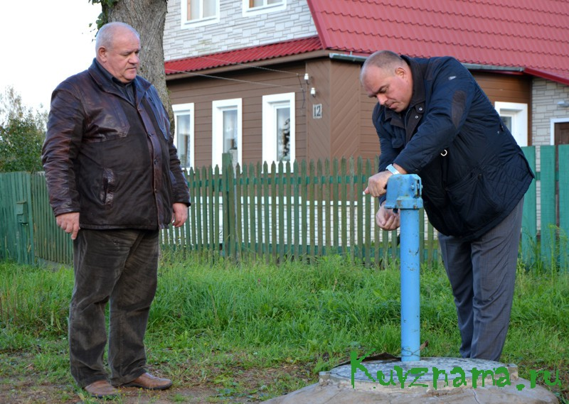 Глава района Игорь Аввакумов лично контролирует ход проводимых работ и проверяет качество их исполнения