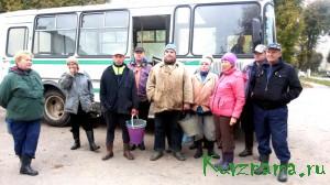 На копку картофеля – общий сбор у автобуса