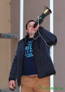 Николай Буров (г. Торжок) открывает состязания