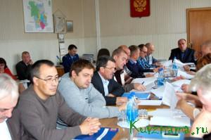 На очередной сессии Собрания депутатов Кувшиновского района