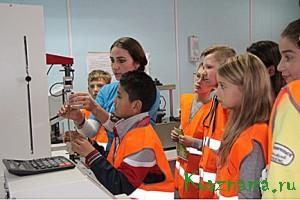 Экскурсия «Приключение на бумажной фабрике» для ребят из московской школы № 498