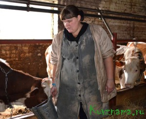 Ангелина Ланцова – скотник ООО «Баховка»