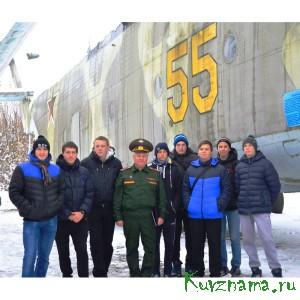 27 октября студенты Кувшиновского колледжа посетили войсковую часть № 45095