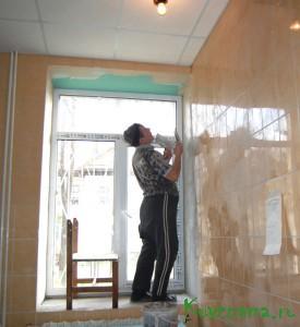 Заканчивается ремонт санузлов