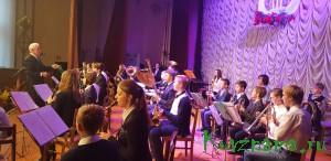 Концерт детского образцового духового оркестра «Золотой саксофон»