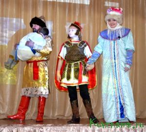 26 ноября, в СОШ №1 прошло театрализованное патриотическое представление «Михаил Тверской»