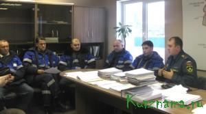 Совещание с работниками Кувшиновского газового участка