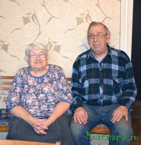 Золотую свадьбу отпраздновала семья Юрия Александровича и Людмилы Павловны Трусовых