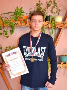 Василий Павлов – спортивная гордость колледжа