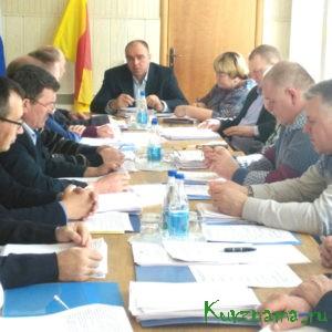 Сессия Собрания депутатов Кувшиновского района 5 созыва