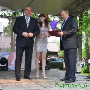 Благодарность главы района вручена генеральному директору ООО «Баховка» Виктору Ряполову
