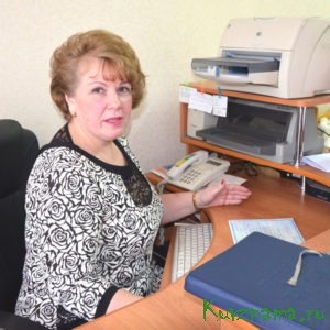 Руководитель отдела загс по Кувшиновскому району Марина Сережина