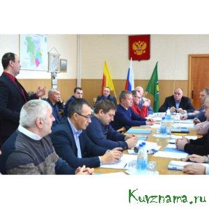 На внеочередной сессии районного собрания депутатов