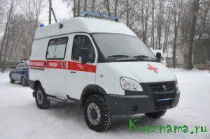 Новый автомобиль скорой помощи