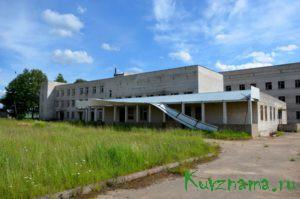 Недостроенное здание ЦРБ