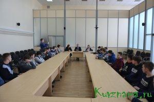 """Представители АО """"КБКФ"""" на встрече со студентами ТПК"""